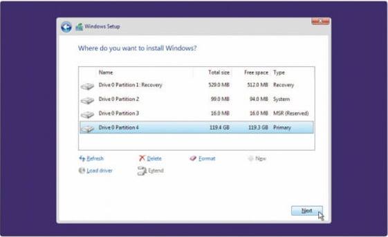 Reinstall the latest Windows 10