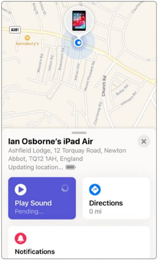Find My Iphone 10