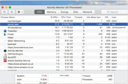 Activity Monitor on Mac 5