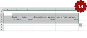 calculate percentage in Excel 2