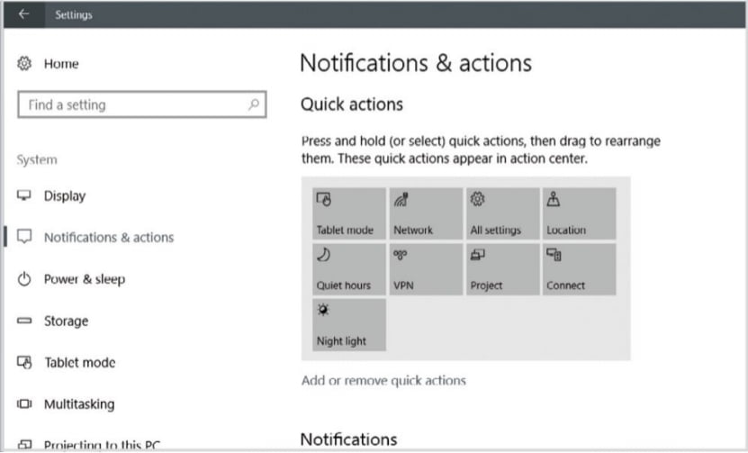action center in windows 10 - 5