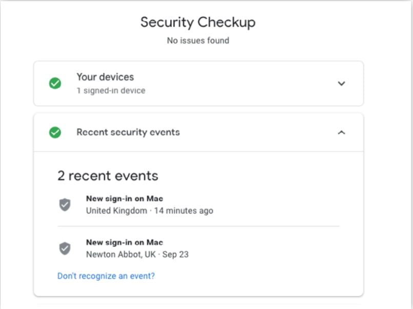 Set Up for Google Account 1