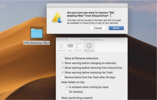 Manage iCloud Storage 01 remove old files