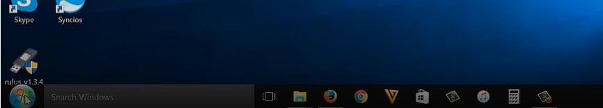 Make windows 10 look like windows 7 start button 3