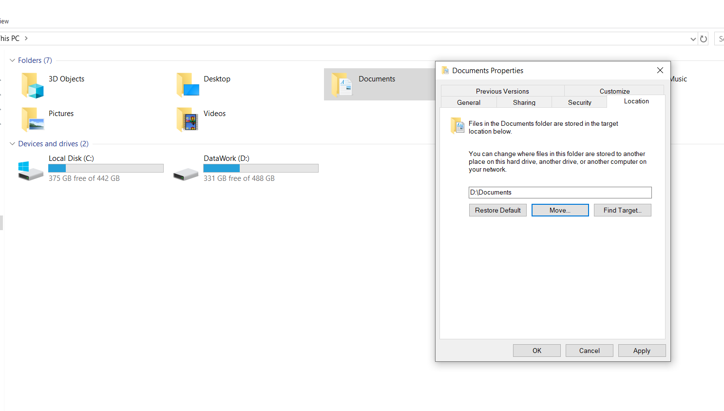 3 Cleaning up the disk in Windows 10