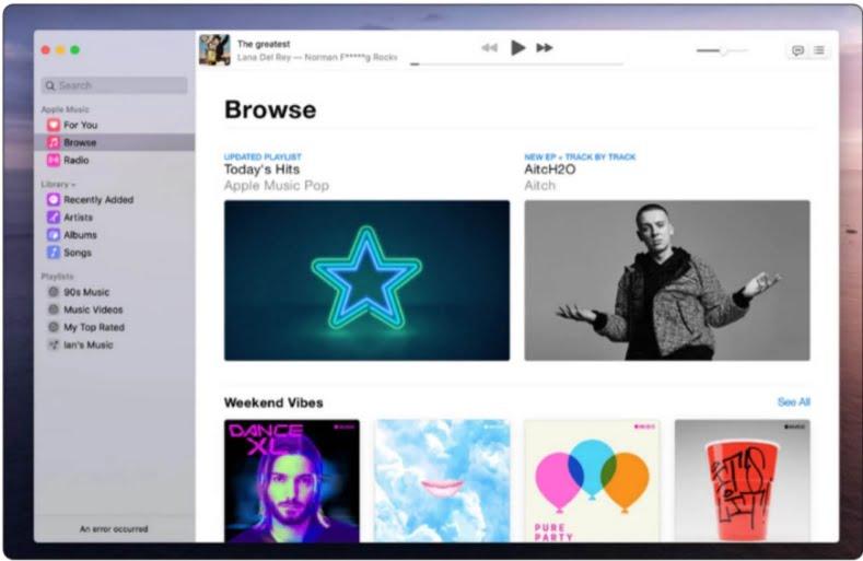 Apple Music on Mac 19