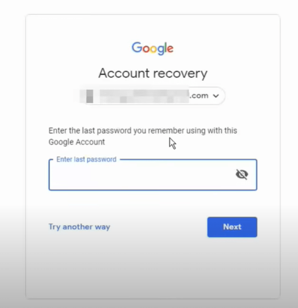 How to Recover locked account ( recover gmail account)