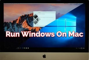 install Windows on Mac