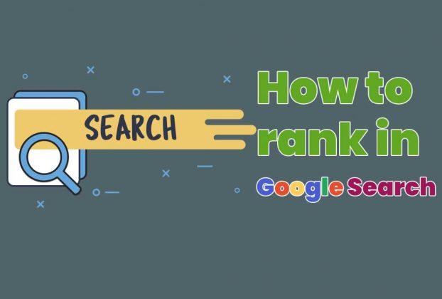 Rank Website on Google