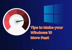 make your Windows 10 PC run faster