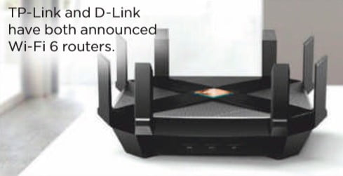 TP-link and DP link wifi 6 routers