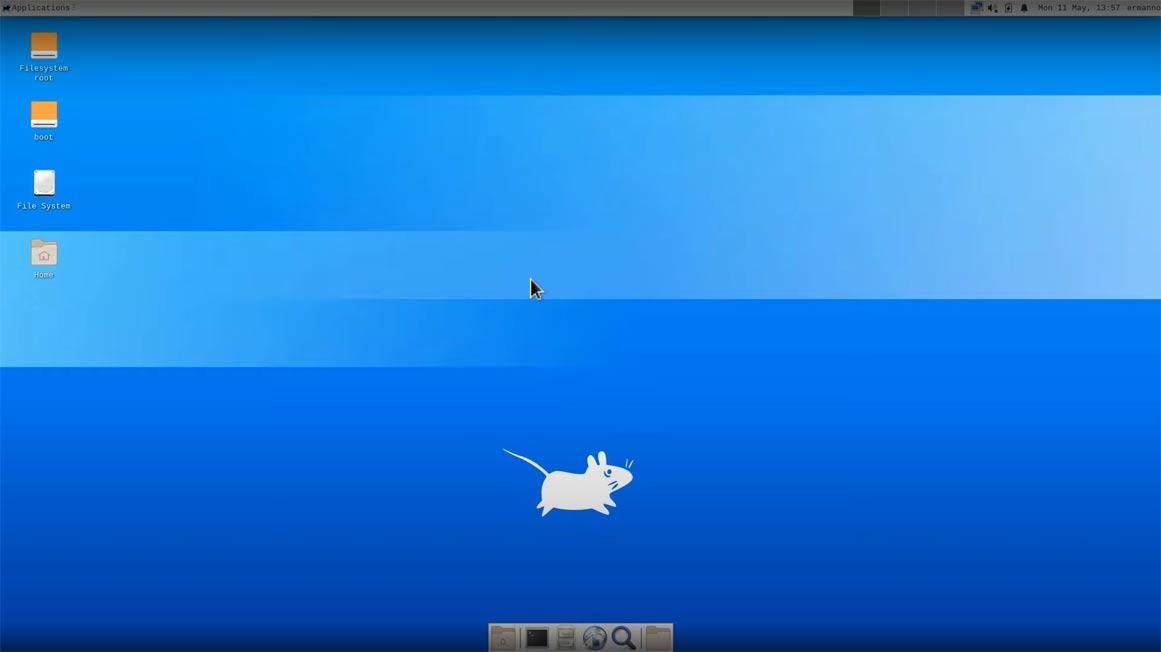 Linux Mint Xfce desktop