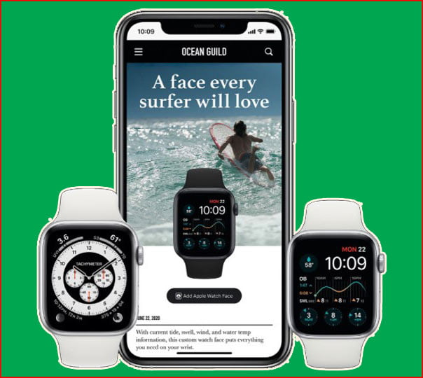 THE NEW WATCHOS 7 makes your watch face more personal
