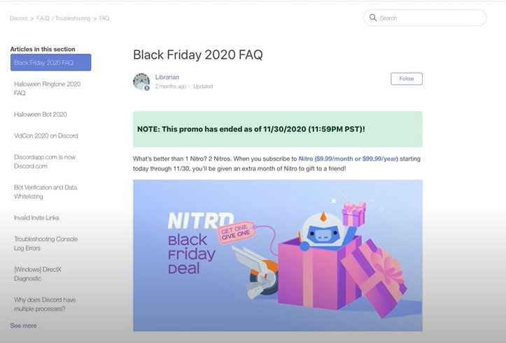 discord black friday offer
