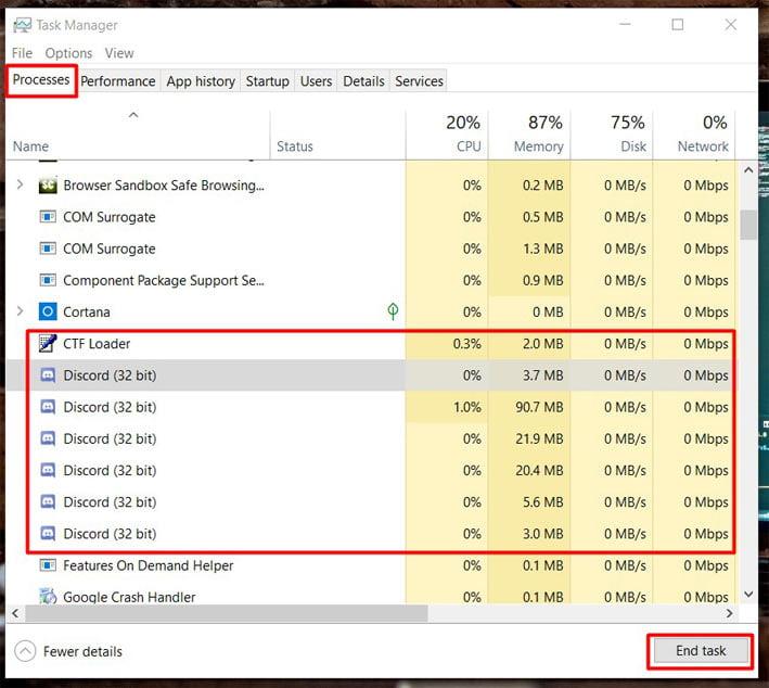 open-taskbar-and-go-to-prosesses-tab