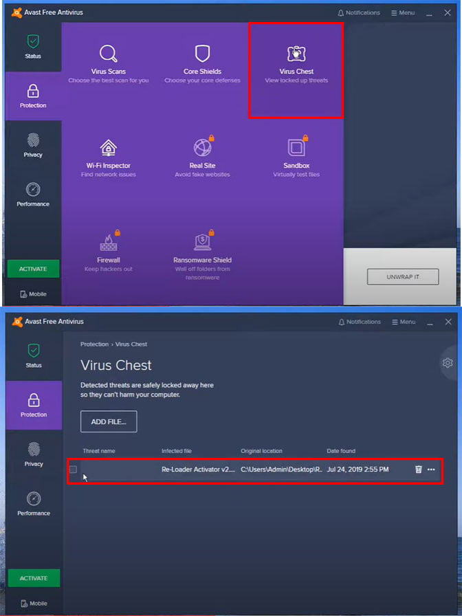 remove discord related file. this could be the cause of discord javascript error