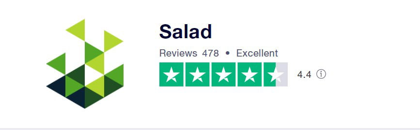 salad is a crypto miner