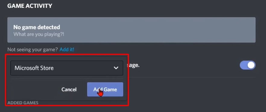 4th, Then select a drop-down list and open and select any application or game