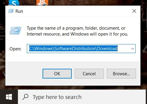 open run and go to the Software distribution folder