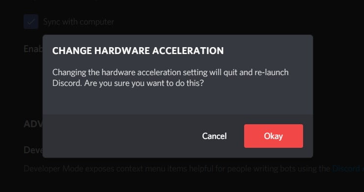 re-launch discord notification