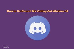 How to fix Mic not working on discord