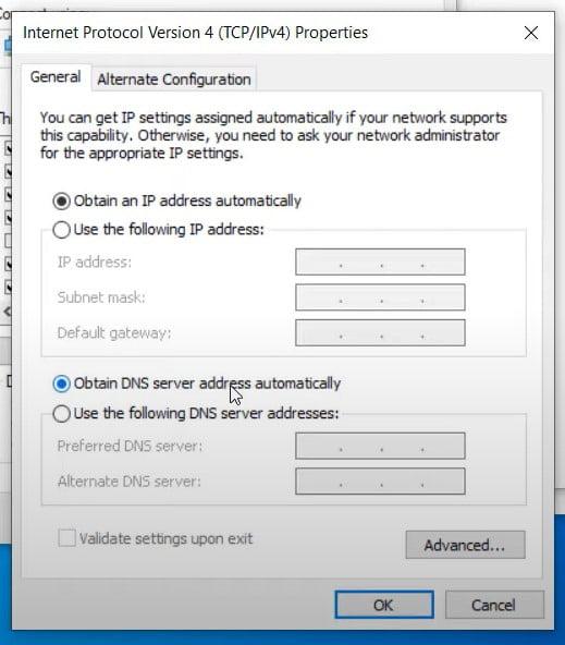 select autometic address