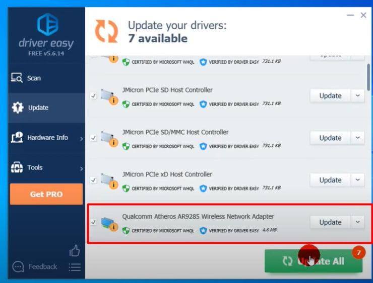 update driver using third-partidriver