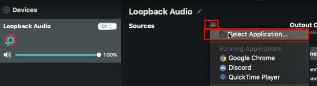 Open loopback and click on Add button