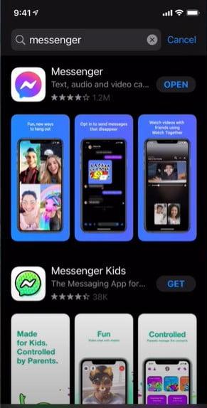 Update Your Facebook Messengers