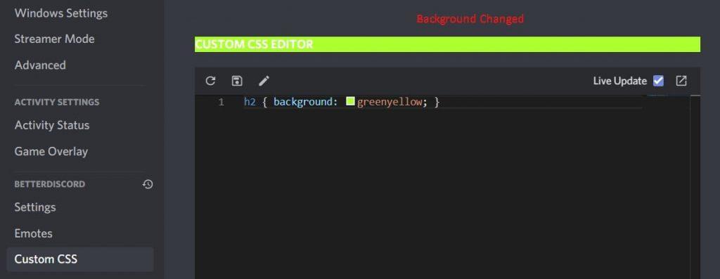 How to Use Custom Css in BetterDiscord