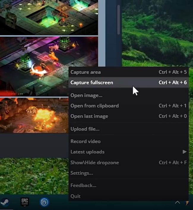 Monosnap Features for take screenshot on windows 11