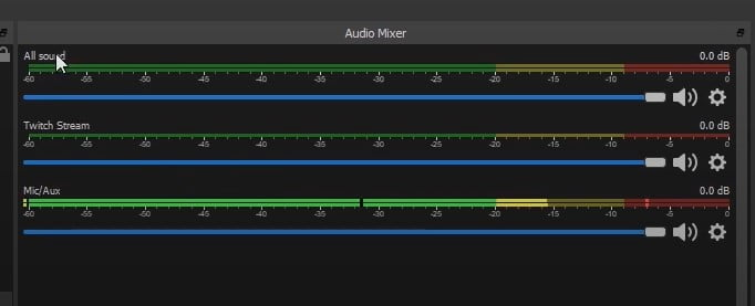 All three audio channels