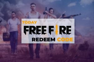 Today Free Fire Redeem Code