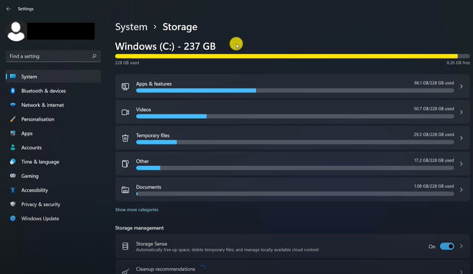 Go-to-your-C-drive-and-storage,-wait-for-load-all-storages