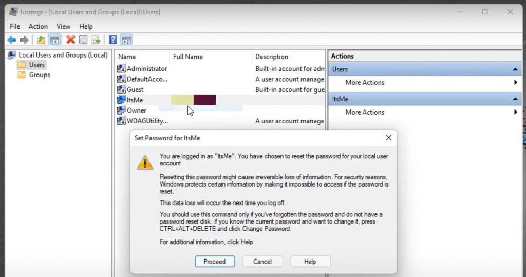 Remove Login Password From WIndows 11