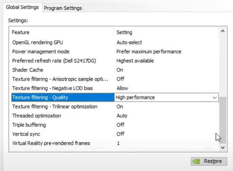 Nvidia-Manage-3d-Settings part 2