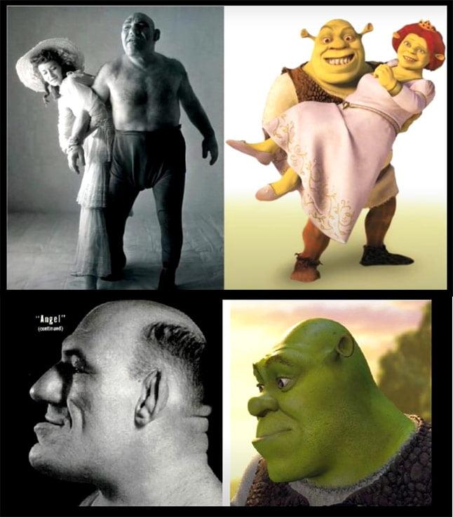Who is human Shrek based on?